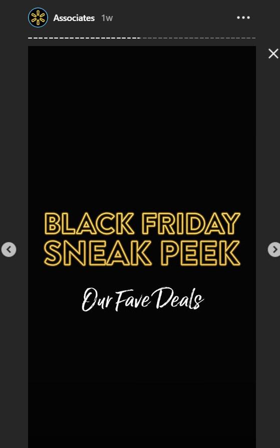 Kara Cuma (Black Friday) sosyal medya paylaşımını temsil eden tasarım