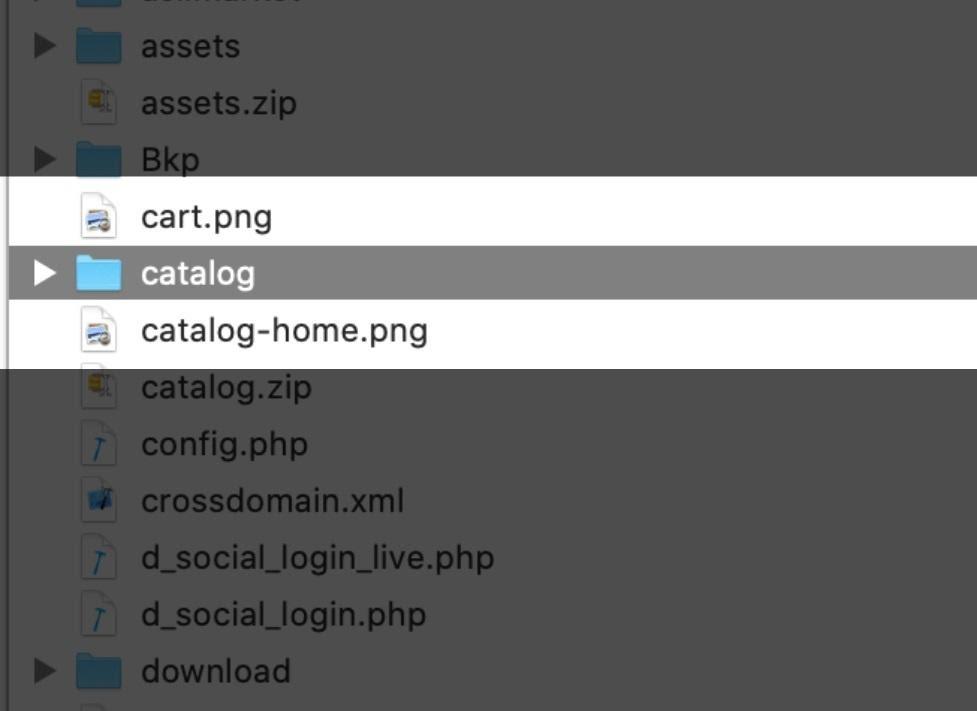 Paraşüt OpenCart Entegrasyonu OepnCart Site FTP Catalog Yükleme