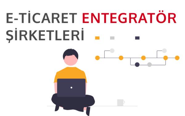 e-ticaret entegratör şirketlerini temsil eden görsel