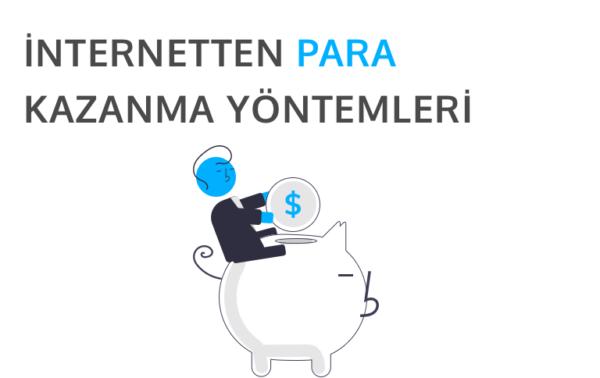 internetten para kazanma yöntemlerini temsil eden görsel