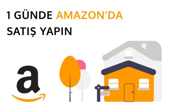Amazon'da satış yapmayı temsil eden görsel