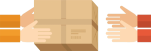 e-ticarette ürün iade oranını temsil eden görsel
