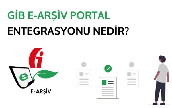 GİB e-Arşiv Portal'ın 5.000/30.000 TL fatura entegrasyonunu temsil eden görsel